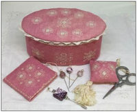 Ca' Rosada Pink Sewing Box