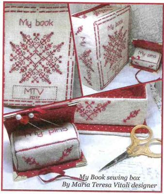My Sewing Book Box
