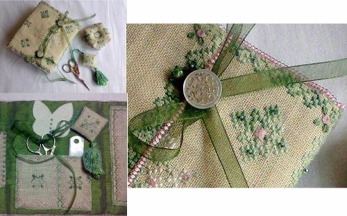 Romantic Stitcher's Time Sewing Set
