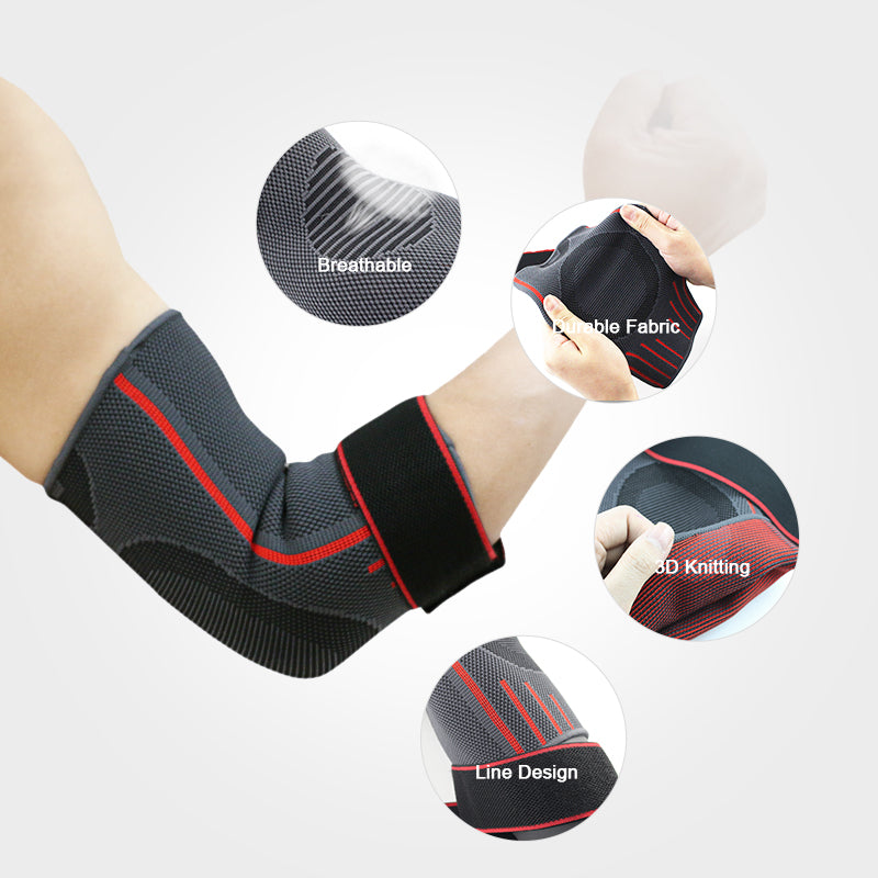 Adjustable Elbow Compression Sleeve Slick