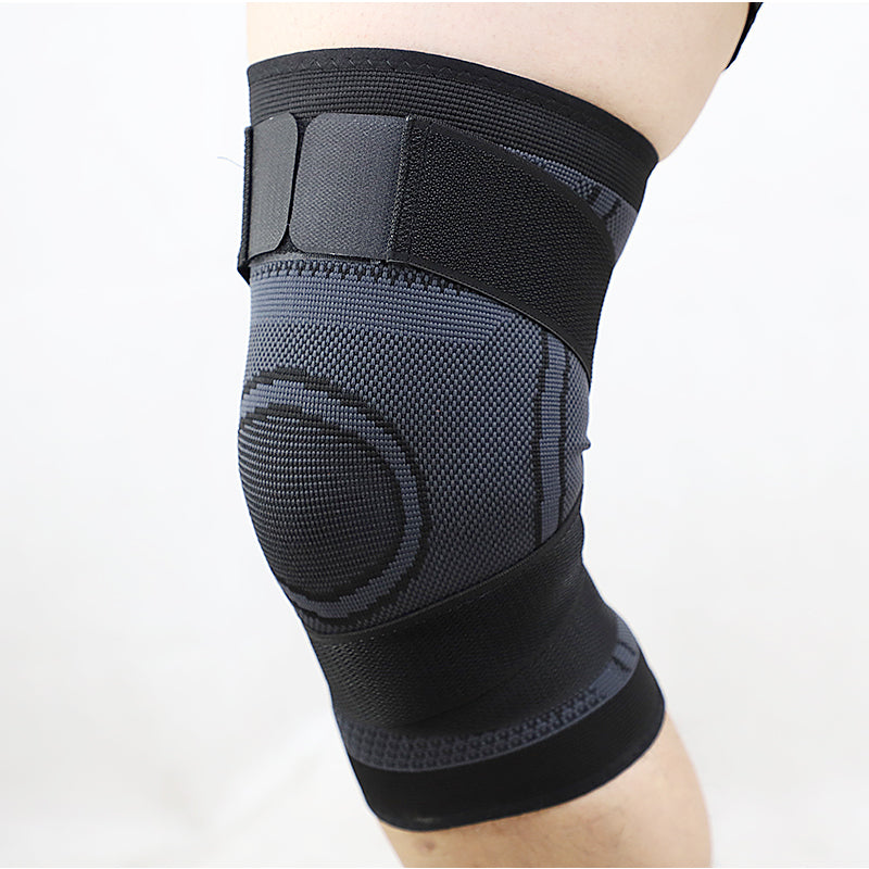 Adjustable Knee Compression Brace With Straps