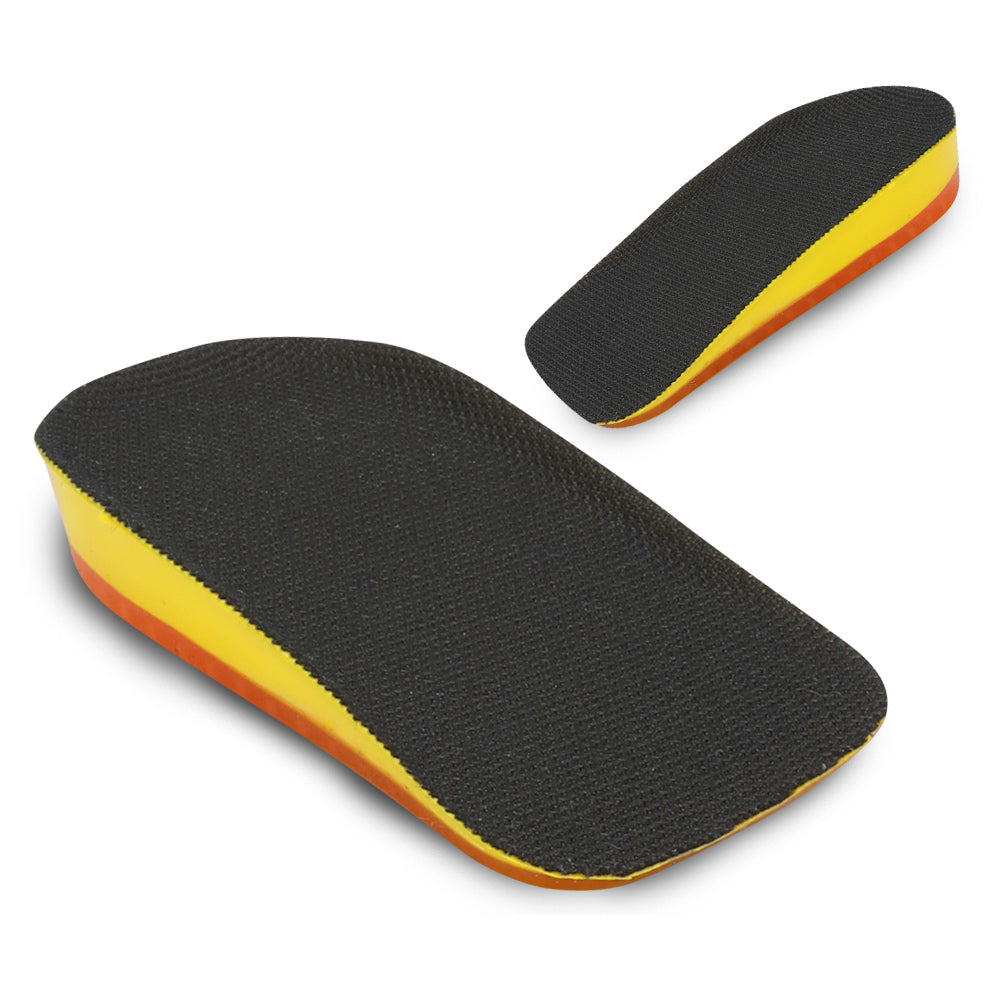 Height Heel Lift Insert for Length Discrepancies, Sports Injuries, Heel Spurs & Achilles Tendonitis Pain Relief - Heel Pad
