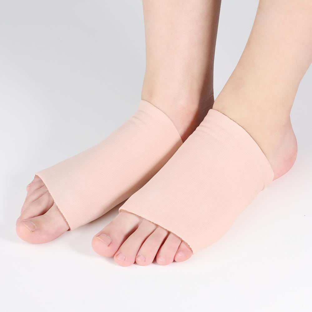 Metatarsal Compression Arch Support Gel Sleeve for Pain Relief from Plantar Fasciitis, Heel Spurs, Achilles Tendonitis and Flat Feet - Foot Pad