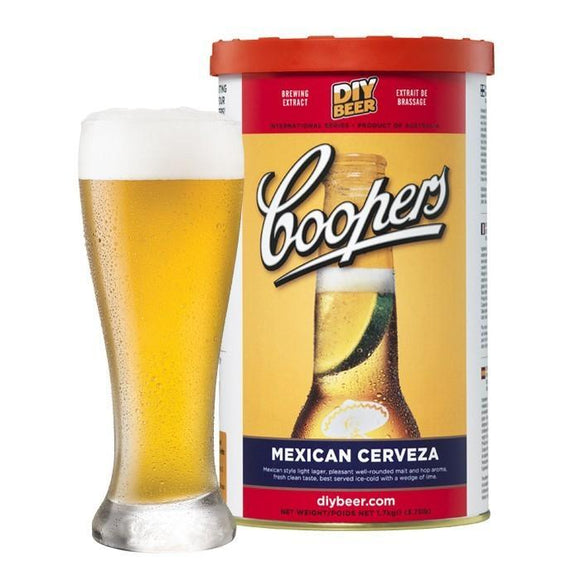 BEER KITS- Coopers Mexican Cerveza
