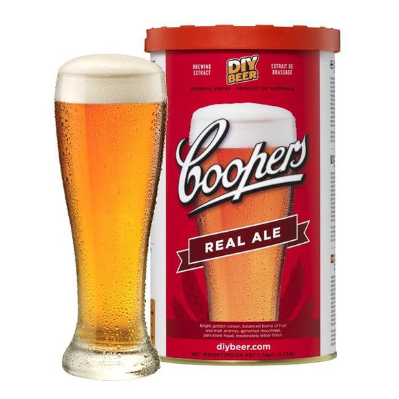 BEER KITS - Coopers Real Ale