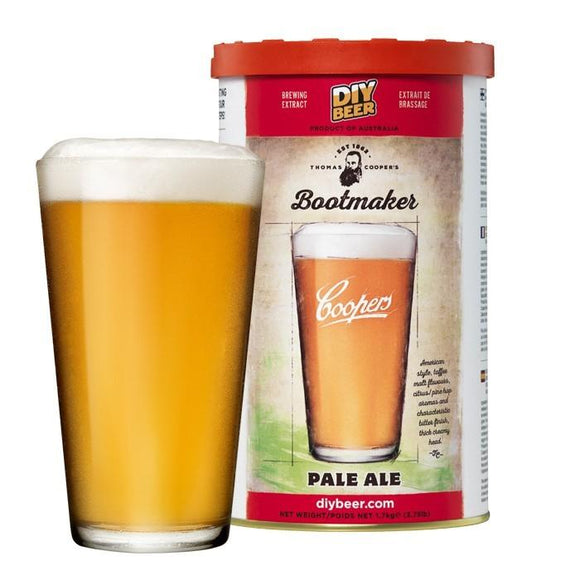 BEER KITS- Thomas Coopers Bootmaker's Pale Ale Kit