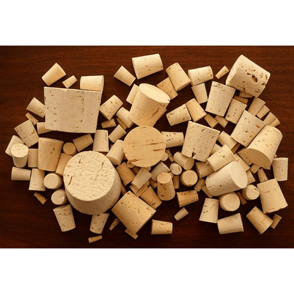TAPERED CORKS - #16 Tapered Wine Cork - Carboy Size