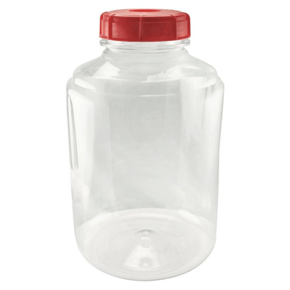 CONTAINERS - 10L (3 Gal) Plastic Carboy WIDE MOUTH FerMonster