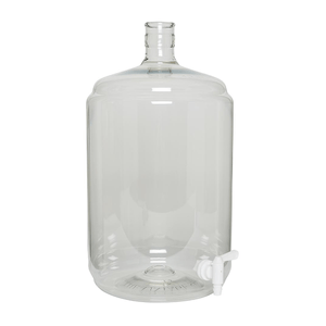 CARBOYS - 11.5L (3 Gal) Plastic PET Carboy Ported With Spigot