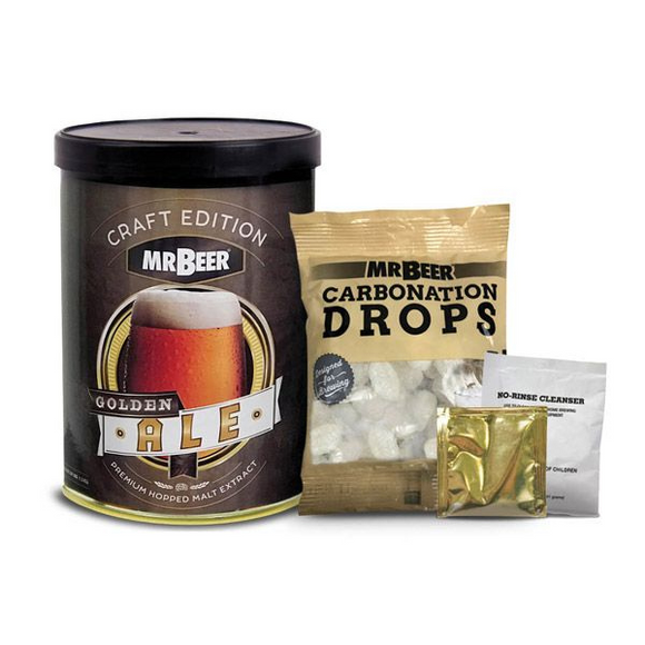 Mr Beer Craft Refill - Golden Ale - EA