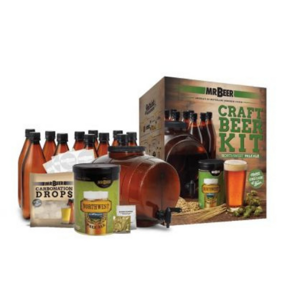 Mr Beer Starter Kit - Northwest Pale Ale (with Bottles) - EA