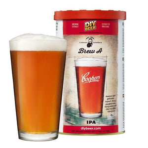 "Coopers - Thomas Cooper's Brew ""A"" IPA (India Pale Ale) Kit"
