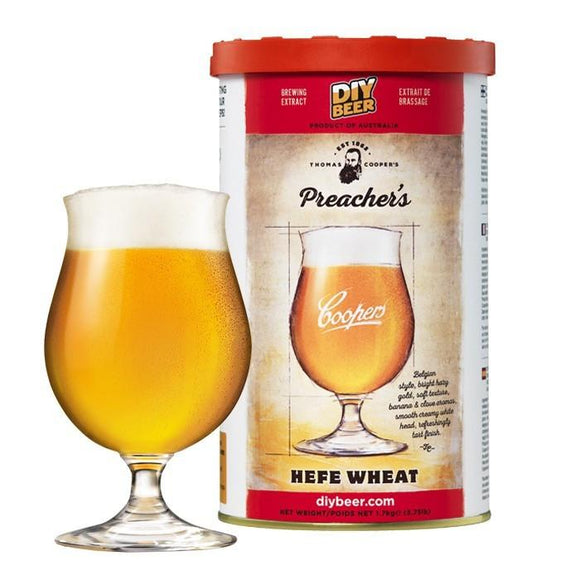 Coopers - Thomas Cooper's Preachers Hefe Wheat Kit
