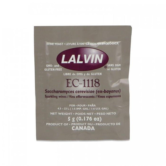 Wine Yeasts - Lalvin EC-1118 Yeast