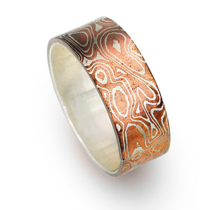 Open image in slideshow, Mokume-Gane Ring
