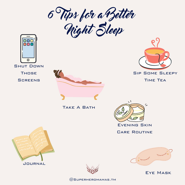 6 tips for a better night sleep