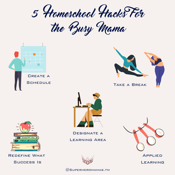 5 homeschooling hacks for the busy mama 2021