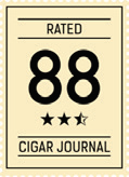 Rated 88 Cigar Journal