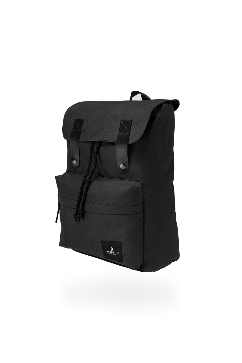 Louis Snap Backpack Black