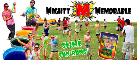 instant slime fun run ideas school fundraiser idea colour run battle pack