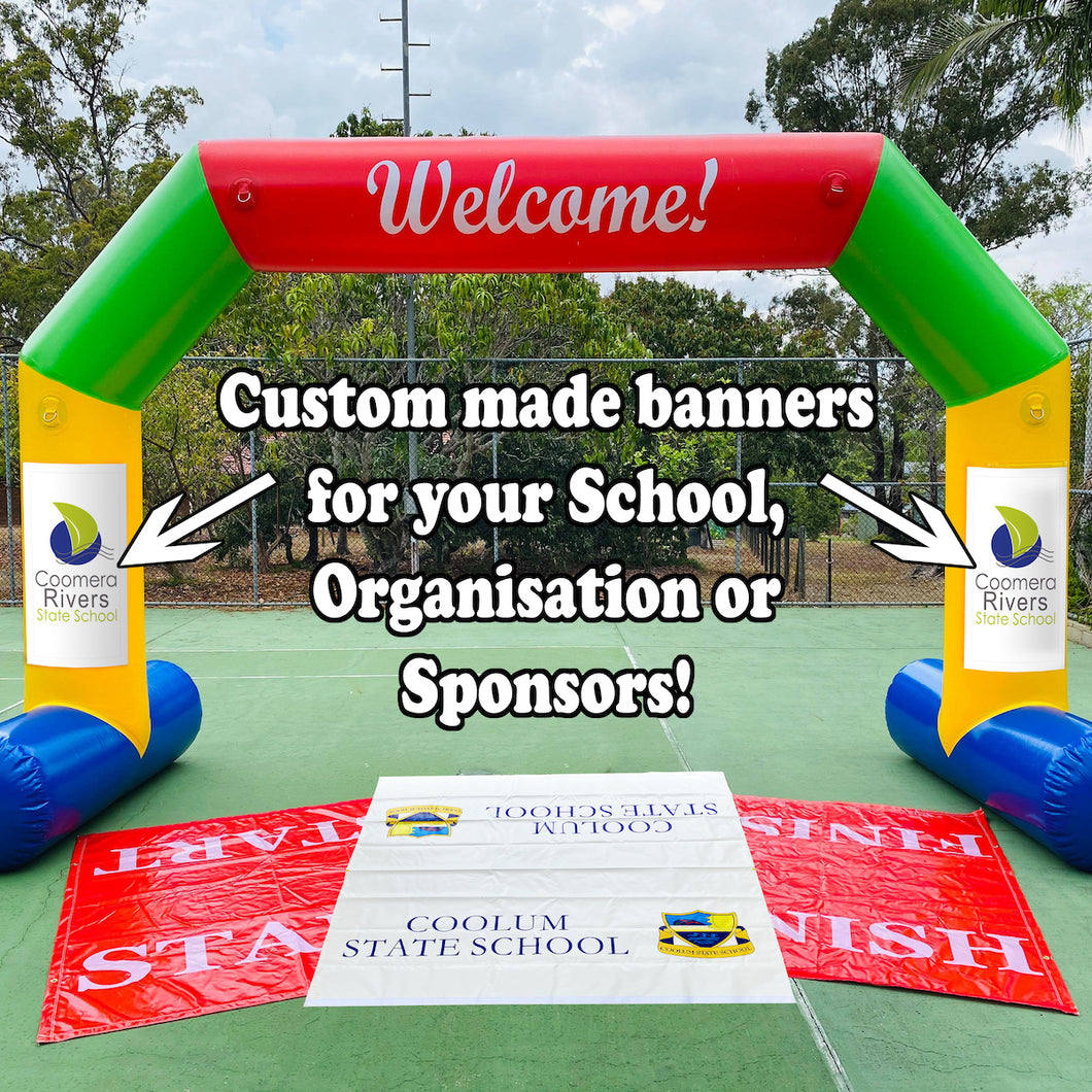 custom inflatable arch banners