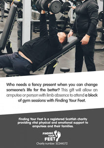 Alternative Giving - Gym Sessions - Finding Your Feet