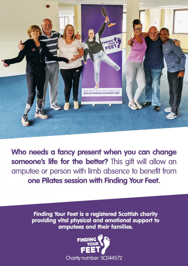 Alternative Giving - Pilates - Finding Your Feet
