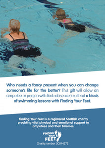 Alternative Giving - Swimming Lessons - Finding Your Feet