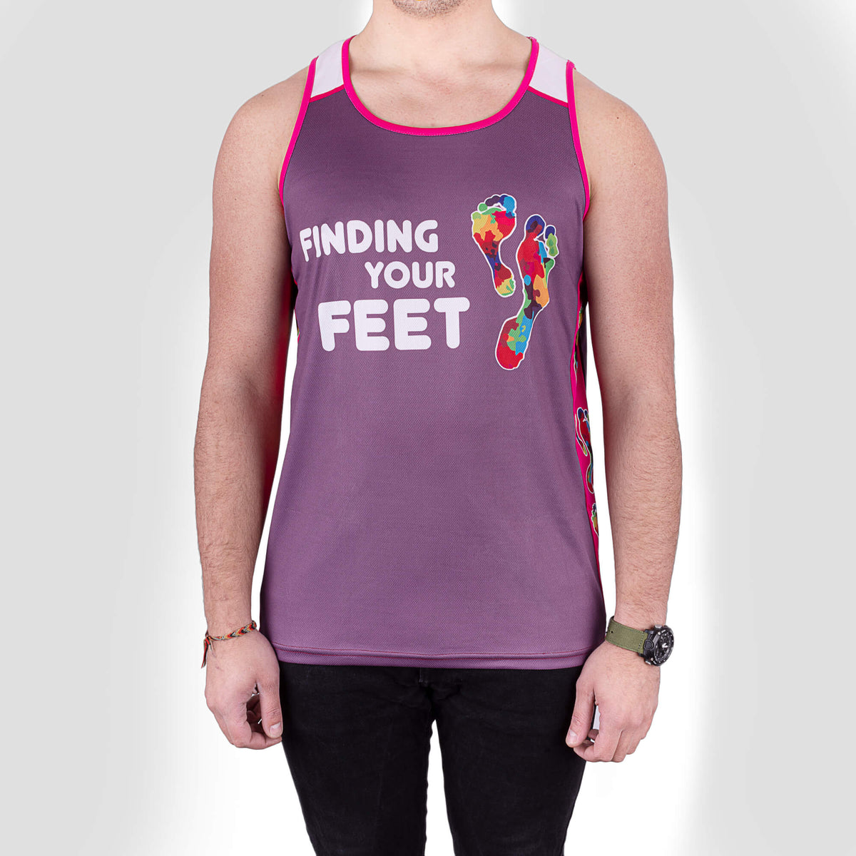 finding your feet running vest