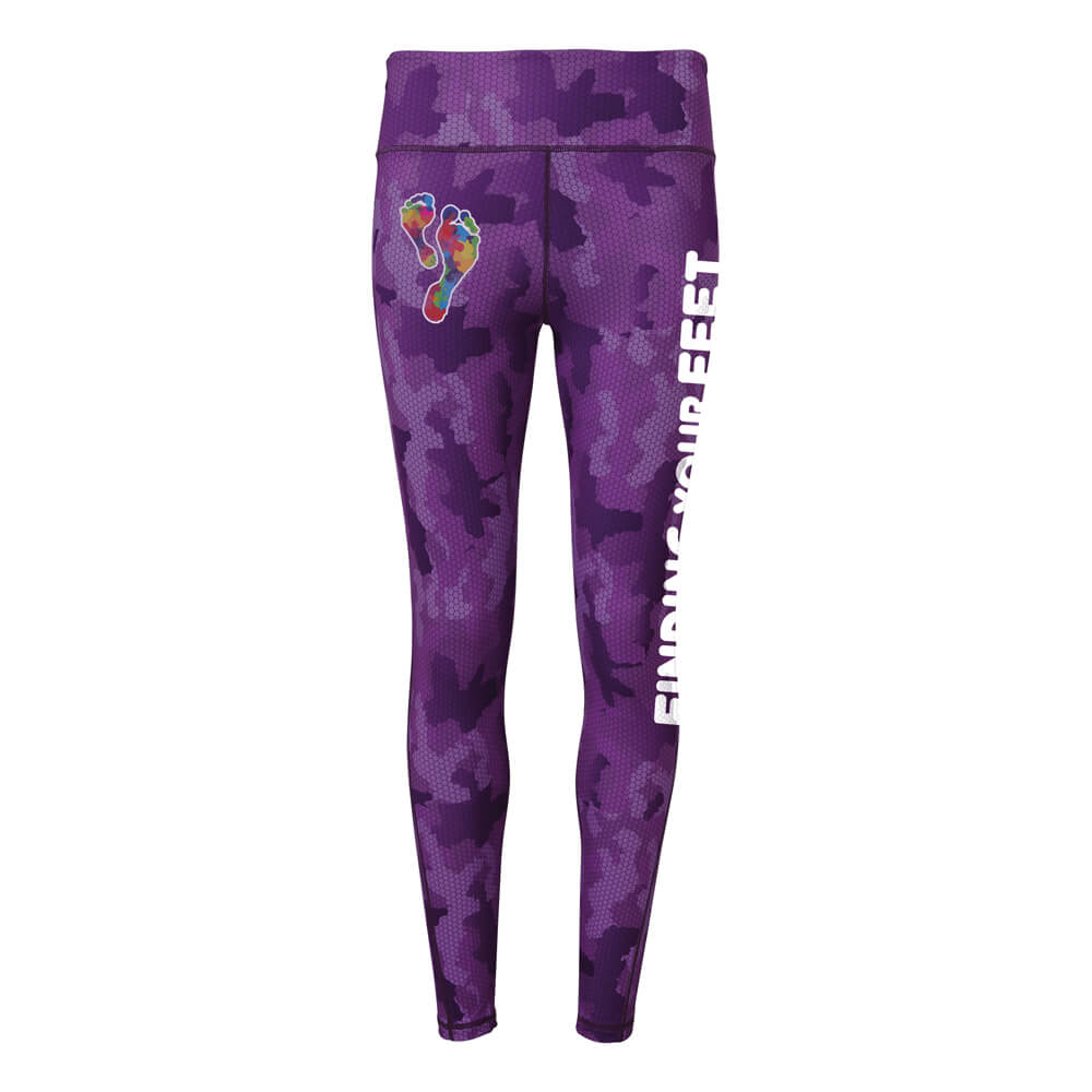 finding your feet performance leggings