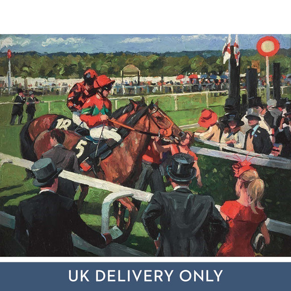 Sherree Valentine Daines 'Ascot Race Day III' Framed Printed Canvas