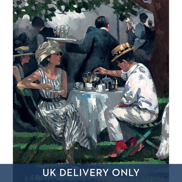 Sherree Valentine Daines 'Afternoon Tea' Framed Printed Canvas