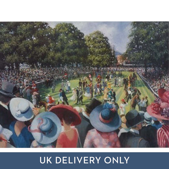 Sherree Valentine Daines 'Ladies Day Royal Ascot' Framed Printed Canvas