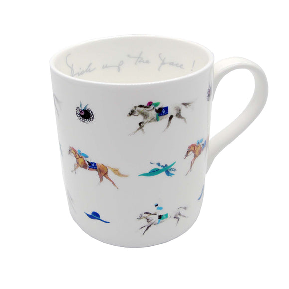 Ascot 'Pick Up The Pace' Mug White