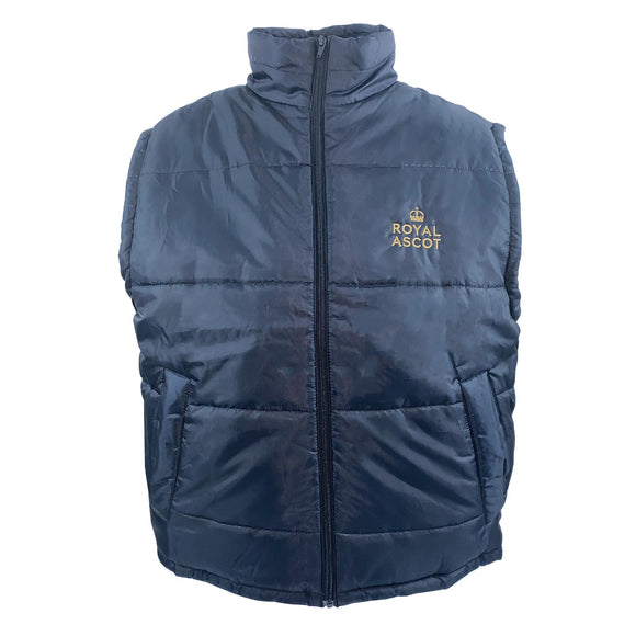 Royal Ascot Mens Padded Gilet Navy