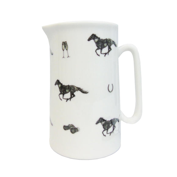Ascot Raceday Jug White