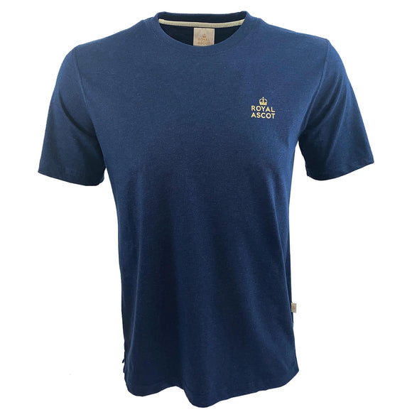 Royal Ascot Mens Logo T-Shirt Navy