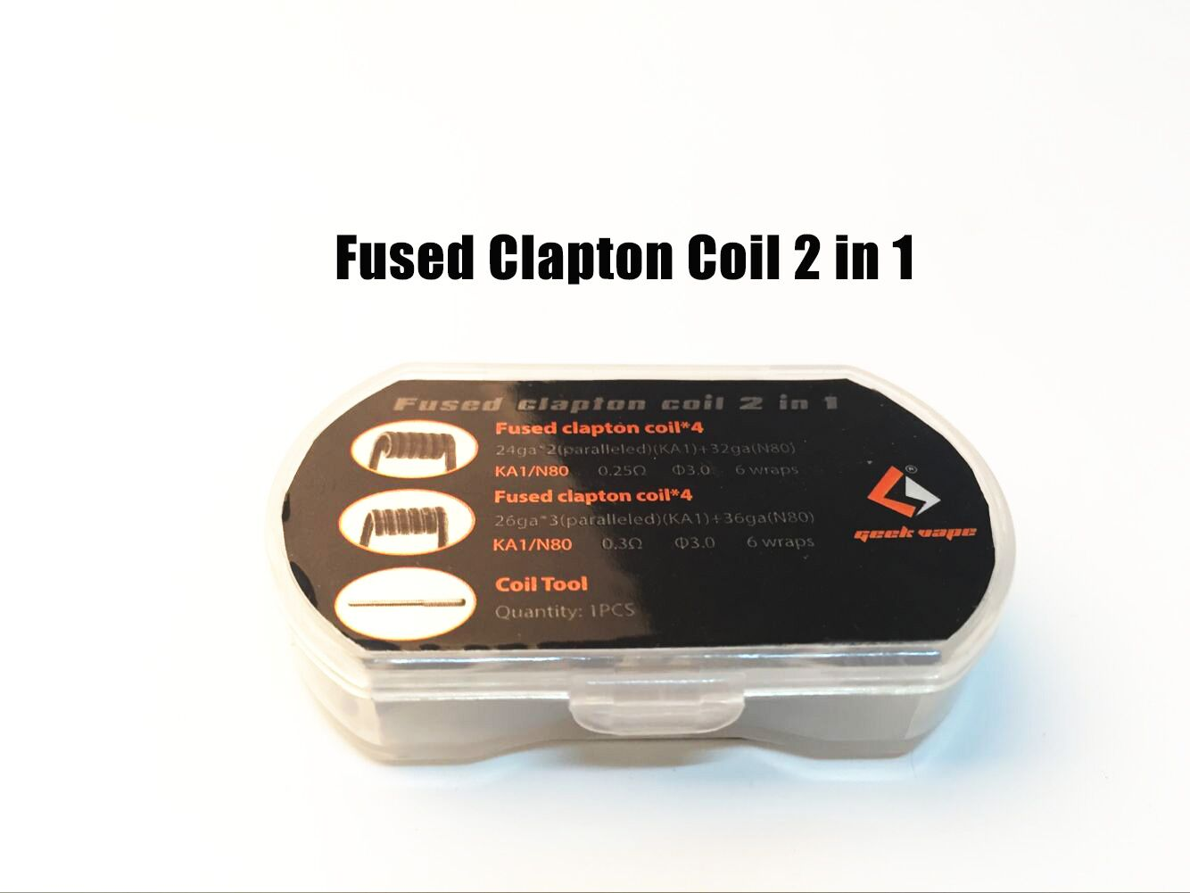 Geekvape Fused Clapton Coil 2 in 1 Box Set