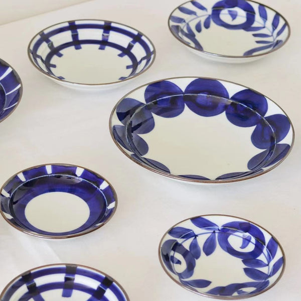 HASAMI Ware Bowl & Plate - Pattern Collection
