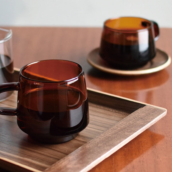 KINTO Cup and Saucer - SEPIA Collection