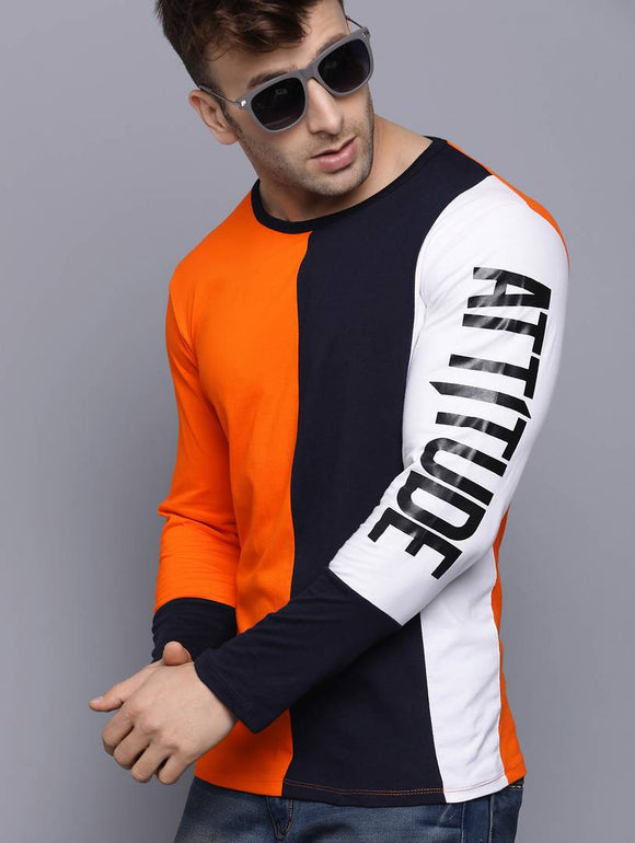 Attitude full Sleeve T-shirt