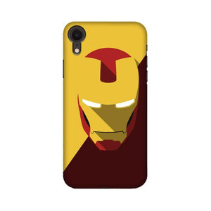 IRON MAN BROWN & YELLOW - iPhone XR CASE - YoVibe