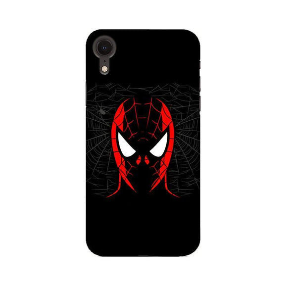 Dark Spidey Face - iPhone XR Case - YoVibe