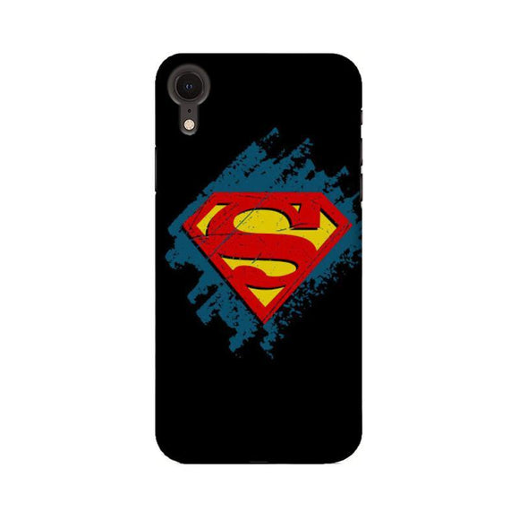 SUPERMAN LOGO MIX - iPhone XR Case - YoVibe