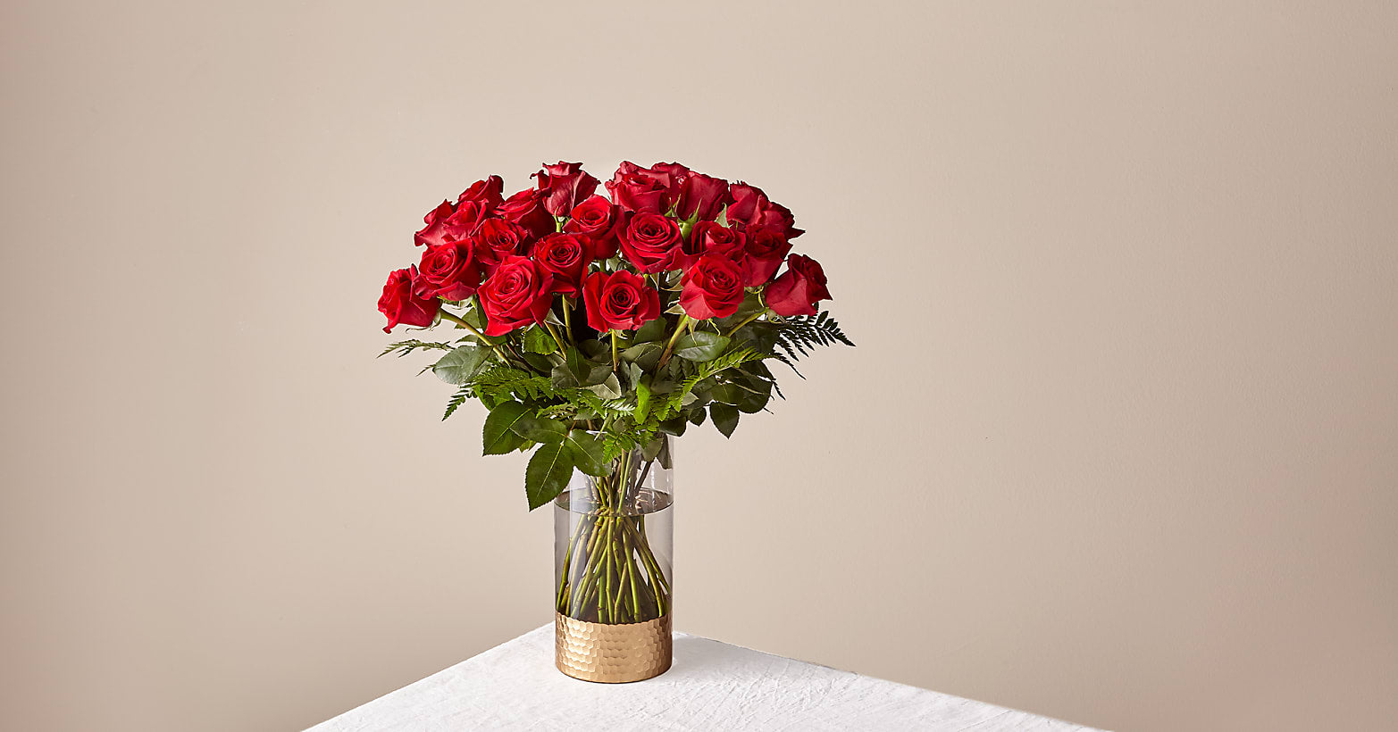 Lovebirds Red Rose Bouquet - Image 1 Of 6