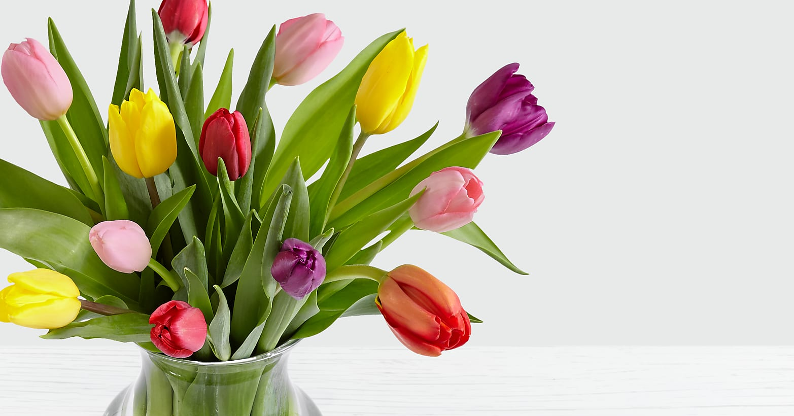 15 Multi-Colored Tulips - Image 3 Of 4