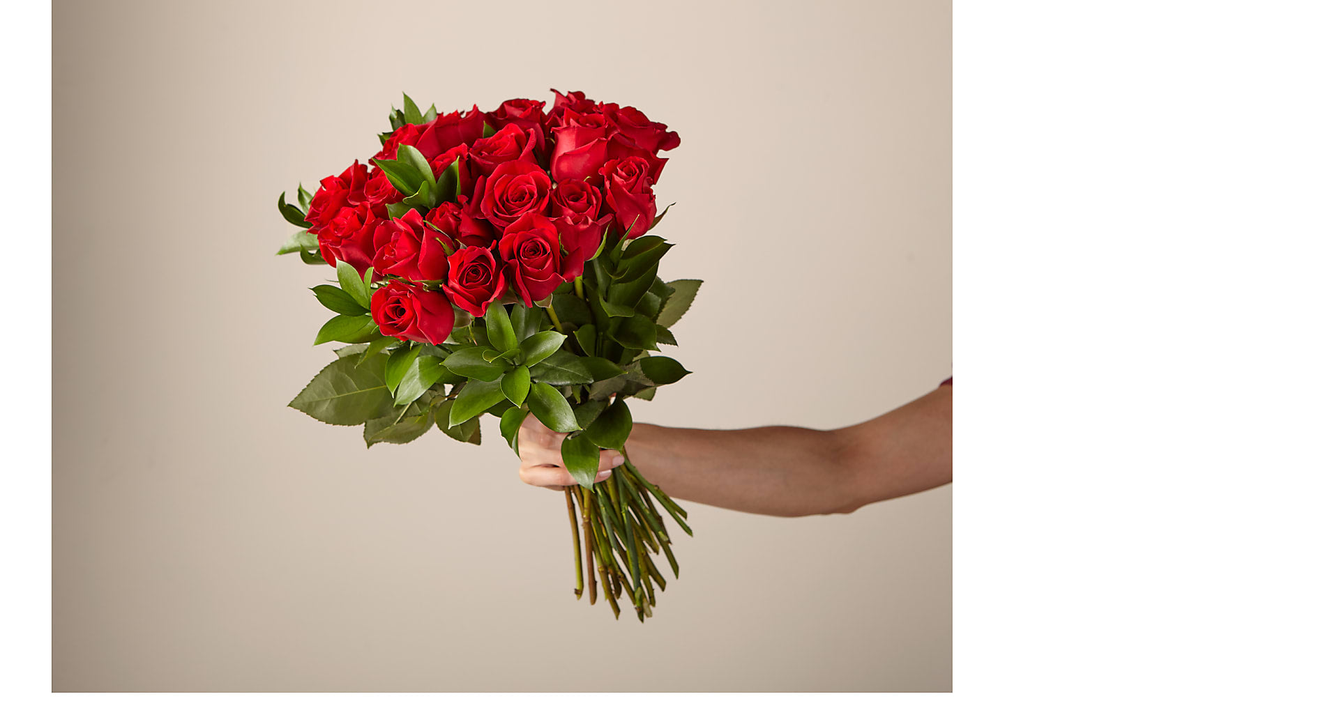 24 Red Roses no vase - Image 1 Of 2