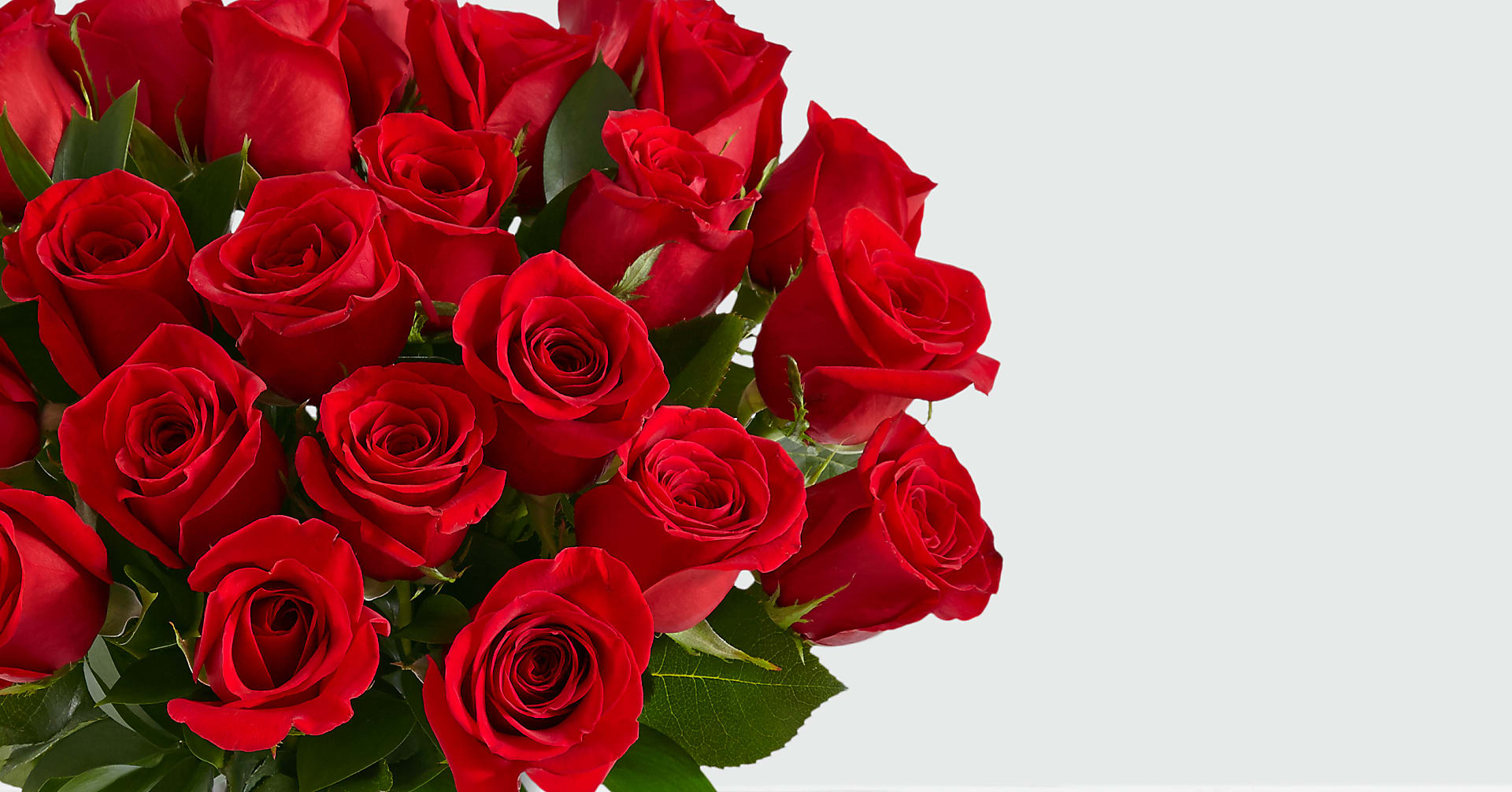 Two Dozen Long Stemmed Red Roses - Image 2 Of 2