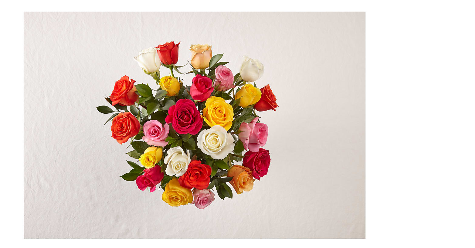 Two Dozen Assorted Roses - Image 2 Of 3