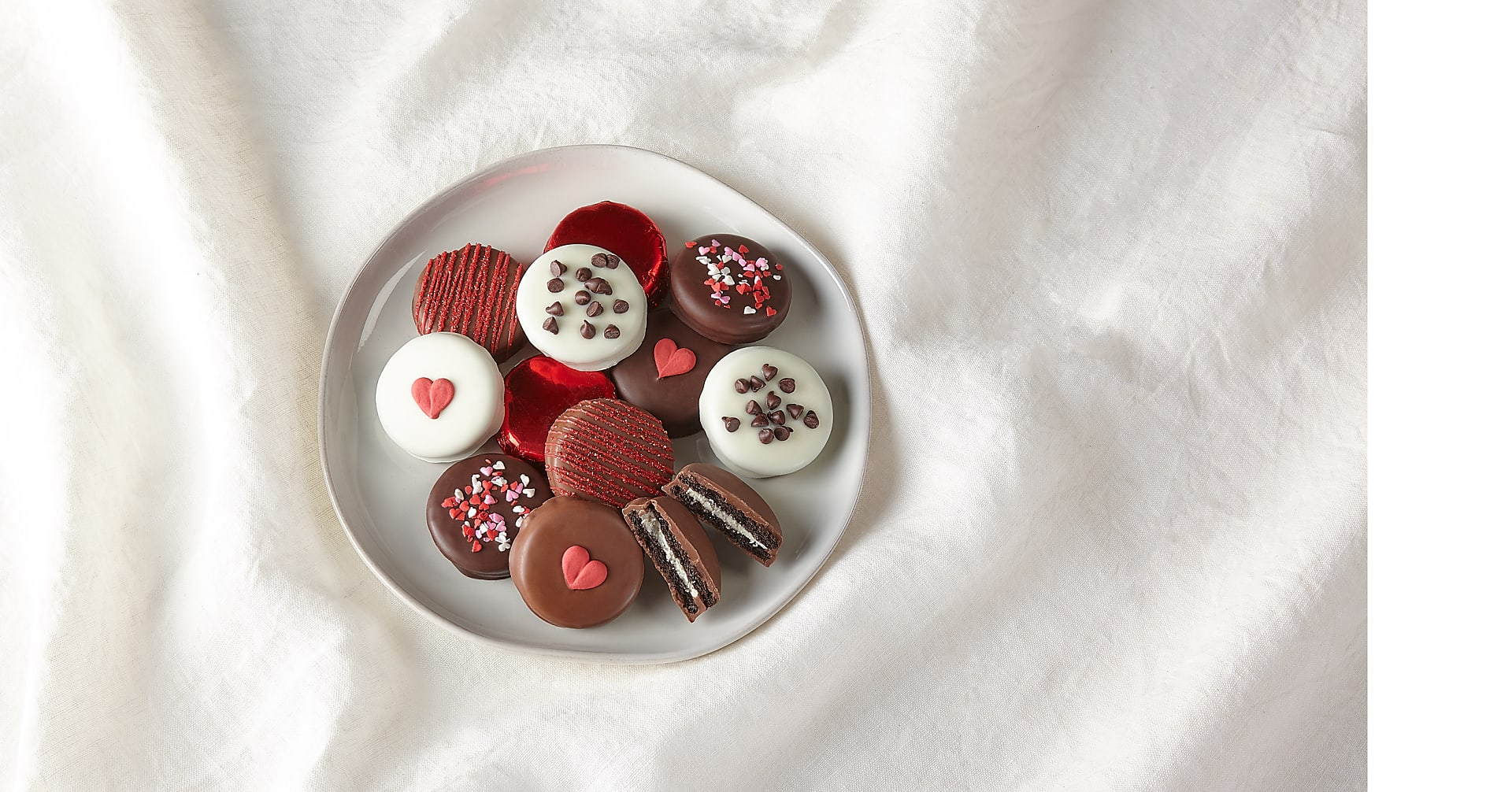 Valentine's Day Chocolate Covered OREO® Cookies - Image 1 Of 2